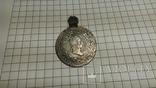 20 крейцеров 1828г. серебро в позолоте
