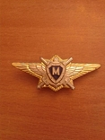 Нагрудный знак М класс Морская авиация