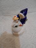 Девочка и снеговик. Старый Киев. photo 12