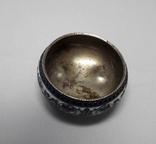 Солонка - серебро, эмали 1895 г photo 2