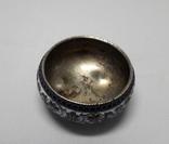 Солонка - серебро, эмали 1895 г photo 3