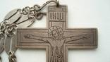 Наградной наперсный «Павловский» крест Серебро 84 проба photo 2