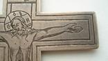 Наградной наперсный «Павловский» крест Серебро 84 проба photo 6
