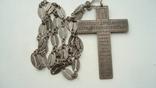 Наградной наперсный «Павловский» крест Серебро 84 проба photo 11