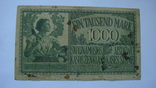 Прибалтика 1000 марок 1918 немецкая оккупация, фото №3