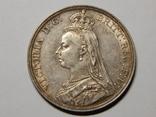 1 крона, 1887 г Великобритания photo 2