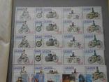 Провизории Бурятия Осетия Камчатка 1992-1994 годы. 1075 шт. photo 12