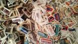 Лот марок стран мира и СССР ( 5600 шт. и около 200 блоков и квартблоков ) photo 2