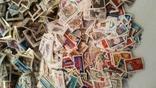 Лот марок стран мира и СССР ( 5600 шт. и около 200 блоков и квартблоков ) photo 4