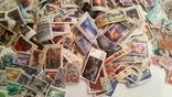 Лот марок стран мира и СССР ( 5600 шт. и около 200 блоков и квартблоков ) photo 8