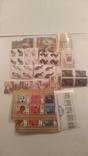 Лот марок стран мира и СССР ( 5600 шт. и около 200 блоков и квартблоков ) photo 24