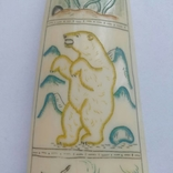 Бивень моржа с вырезанным рисунком photo 8