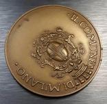 Золотая медаль муниципалитета Милана с документами photo 2