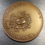 Золотая медаль муниципалитета Милана с документами photo 4