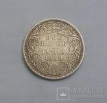 1 Рупия 1889 Британская Индия photo 1
