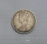 1 Рупия 1889 Британская Индия photo 4