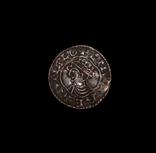 КНУТ Cnut Hammered Coin photo 1