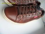 Демисезонная мужская обувь Levis оригинал  . кожа . размер 40. по стельке 25см. photo 2