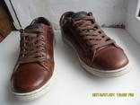 Демисезонная мужская обувь Levis оригинал  . кожа . размер 40. по стельке 25см. photo 3