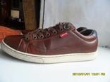 Демисезонная мужская обувь Levis оригинал  . кожа . размер 40. по стельке 25см. photo 7