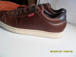 Демисезонная мужская обувь Levis оригинал  . кожа . размер 40. по стельке 25см. photo 8