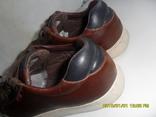 Демисезонная мужская обувь Levis оригинал  . кожа . размер 40. по стельке 25см. photo 10