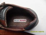 Демисезонная мужская обувь Levis оригинал  . кожа . размер 40. по стельке 25см. photo 11