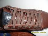 Демисезонная мужская обувь Levis оригинал  . кожа . размер 40. по стельке 25см. photo 12