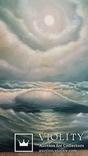 Картина. Морской пейзаж. Парусник. 50х60. 2016г. Колесник Т. photo 4