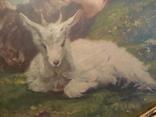 Пастушок с козлёнком .( рама). photo 6