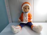 Кукла паричковая СССР эскимоска