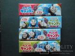 """4 пачки японских жевательных резинок Lotte """"Паравозик Томас"""", фото №2"""