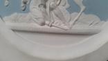 Настенное  старинное панно из бисквита Ф.Толстого, фото №4