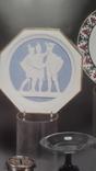 Настенное  старинное панно из бисквита Ф.Толстого, фото №9