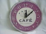 Часы настенные Cafe Paris