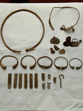 Серебренный комплекс Пеньковской культуры 6-8 век н.е. photo 1