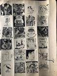 """Графика, """"Свободная группа графиков и живописцев"""", Москва-Райская 1975г. photo 5"""