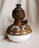 Лампа керосиновая. Матадор 20. Фарфор. Металл. 18-19 век.