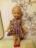 Кукла из СССР. На резинках.41 см.