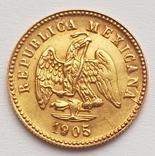 1 Песо 1905. Мексика. photo 2