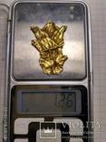 Скифская нашивка (золото) photo 3