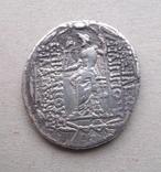 Срібна тетрадрахма Філіпп І Філадельфос (95 - 75 рр. до н. е.) photo 2