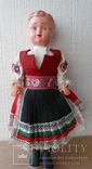 Лялька кукла в национальной одежде Чехословакия 30см, фото №2