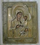 Икона Божией Матери Тихвинская в окладе 22см х 27см
