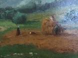 Ст. пейзаж подпись художника Вт. половина XIX века.Австро-Венгрия photo 5