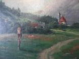 Ст. пейзаж подпись художника Вт. половина XIX века.Австро-Венгрия photo 12