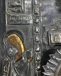 Икона Божией Матери Утоли мои печали в серебряном окладе (41*33,5*3 см.) photo 7