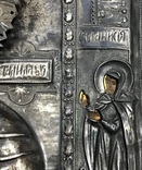 Икона Божией Матери Утоли мои печали в серебряном окладе (41*33,5*3 см.) photo 8