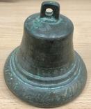 Старинный дореволюционный бронзовый колокол.