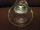 Вазочка - стекло - высота - 14,5 см., фото №7